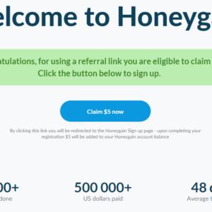HoneyGain Bonus