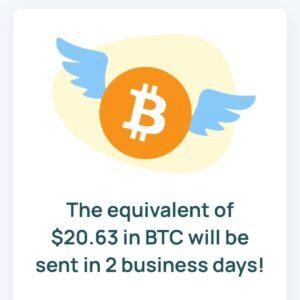 Honeygain Bitcoin